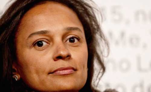 Angolan businesswoman, Isabel dos Santos