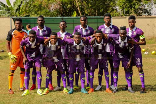 GN Bank Division One side, Vision FC. Image courtesy of @@vfootballclub