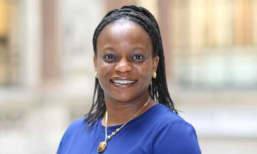 NneNne Iwuji-Eme describes herself as 'the first black British female career diplomat'. She takes up the post of high commissioner to Mozambique in July. Photograph: The Foreign Office