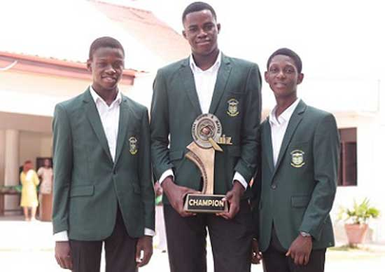 The National Science and Maths Quiz champions you see this year…