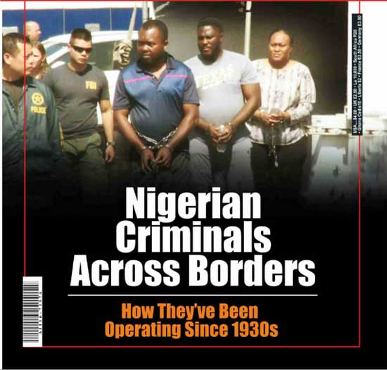 How Nigerian Criminals Across Borders Operate