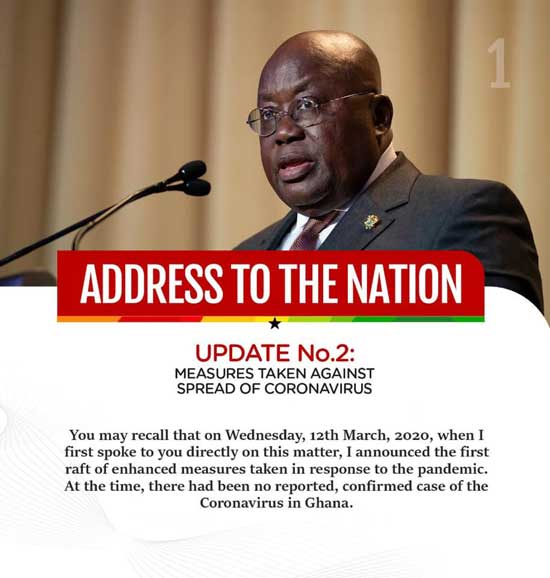 An open letter to the President Nana Addo Dankwa Akufo-Addo to review his directives on Covid-19