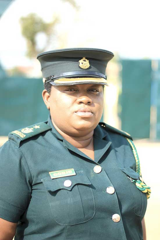 Chief Supt. Pamela Codjo, she heads the MMB