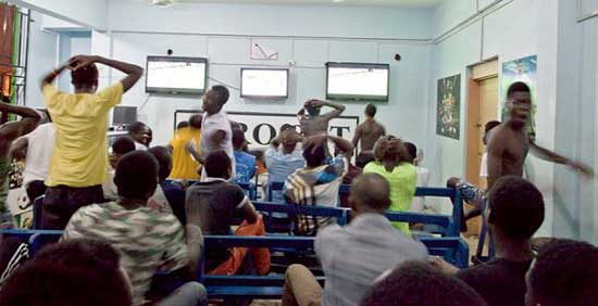 Sport betting in Ghana