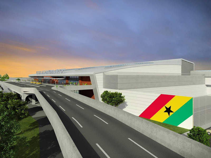 Terminal 3, Kotoka International Airport, Accra. Image credit - ariport-technology