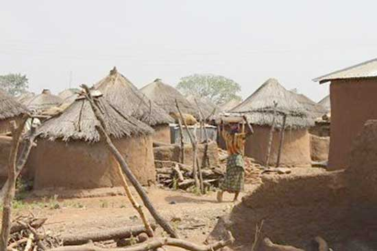 A witch camp in Northern Ghana