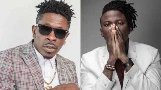 Shatta Wale, Stonebwoy (R) arrested. Image credit - graphiccomgh