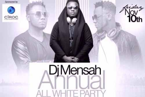 Dj Mensah's All White Party comes off November 10