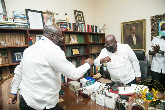 Akufo-Addo leaves for Cote d'Ivoire, Guinea, London