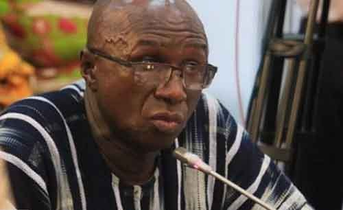 Minister for Interior, Ambrose Dery