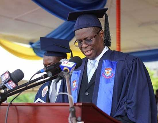 Vice Chancellor of the UCC, Prof. Joseph Ghartey Ampiah. File image