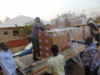 Ghana's Ambassador to Denmark Secures Donation of Medicines Worth over $500,000 to Wenchi Methodist Hospital and Others