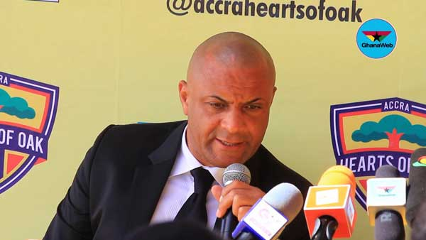 Hearts of Oak part ways with Kim Grant after 12 months and one Premier League game