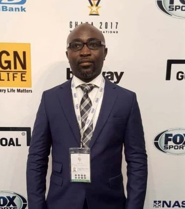 New FA General Secretary, Prosper Harrison Addo