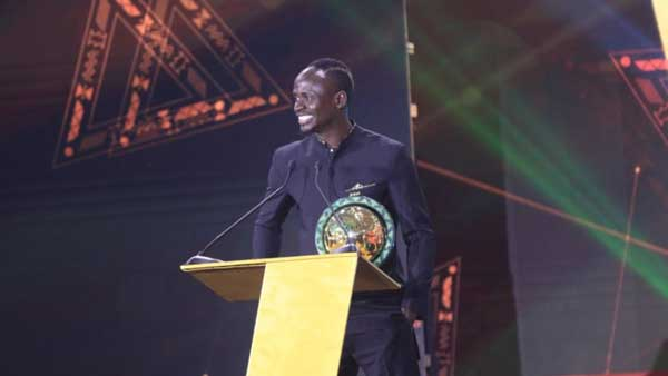 Mane, Oshoala named African Footballers of 2019 at CAF Awards